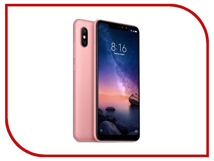 Купить Сотовый телефон Xiaomi Redmi Note 6 Pro 4/64GB Rose Gold