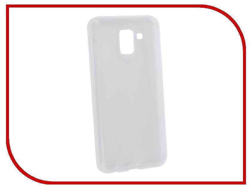 Купить Аксессуар Чехол Brosco для Samsung Galaxy J6 2018 Silicone Transparent SS-J6(8)-TPU-TRANSPARENT
