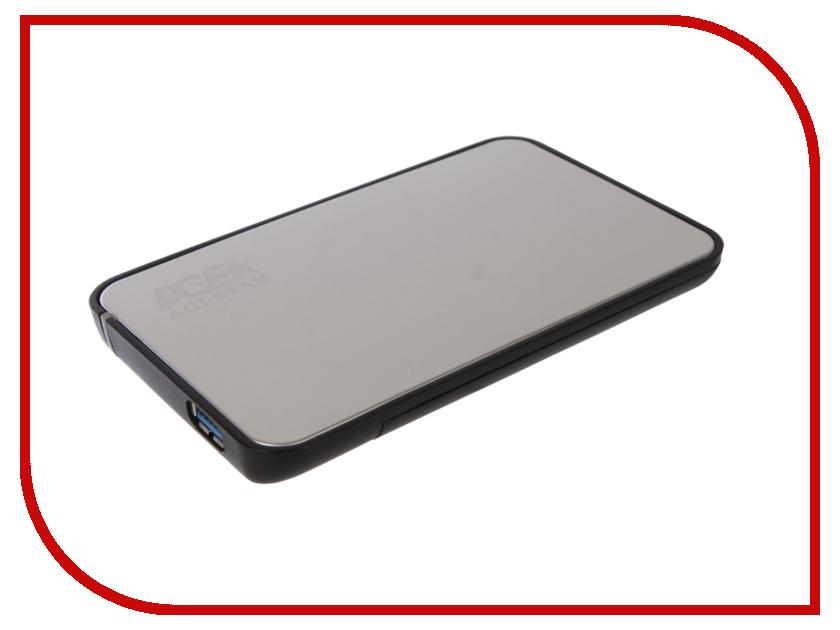 Купить Внешний корпус AgeStar 3UB2A8J-6G Silver