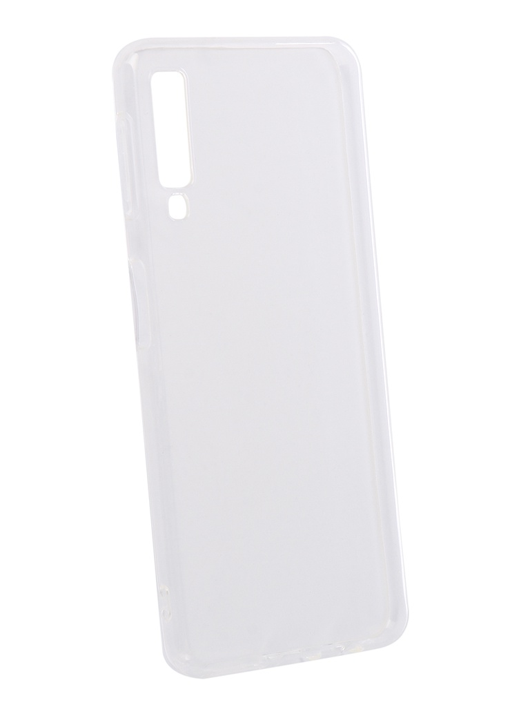 цены sony a7 Аксессуар Чехол DF для Samsung Galaxy A7 2018 Silicone Super Slim sCase-69 Transparent