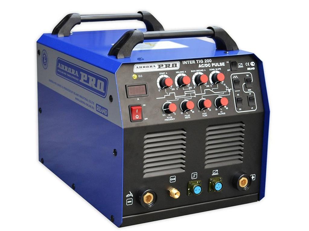 сварочный аппарат brima tig 200 ac dc Сварочный аппарат Aurora Inter Tig 200 AC/DC Pulse Mosfet