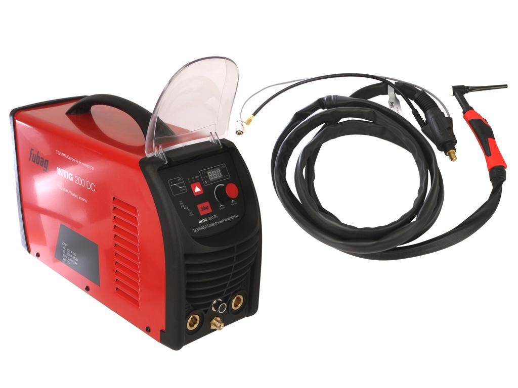 сварочный аппарат brima tig 200 ac dc Сварочный аппарат Fubag Intig 200 DC + горелка FB TIG 26 5P 4m 68 437.2