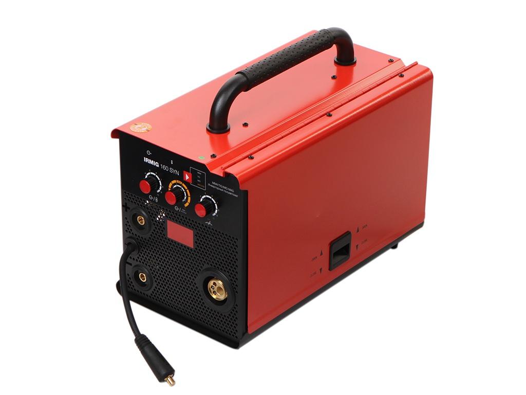Сварочный аппарат Fubag Irmig 160 SYN (31445) + горелка FB 150 3m (38440) горелка для полуавтомата fubag fb 150 5m