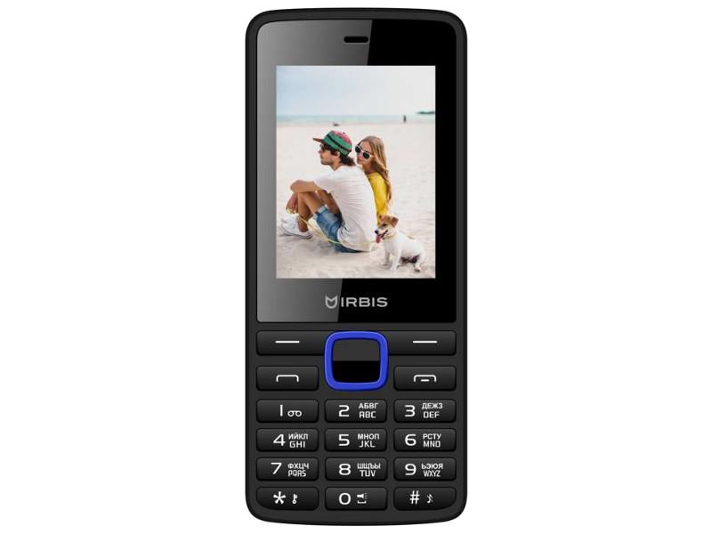 сотовый телефон fly slimline black blue Сотовый телефон Irbis SF19X Black-Blue