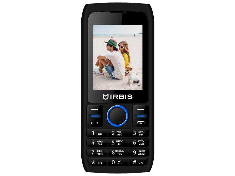 сотовый телефон fly slimline black blue Сотовый телефон Irbis SF54X Black-Blue