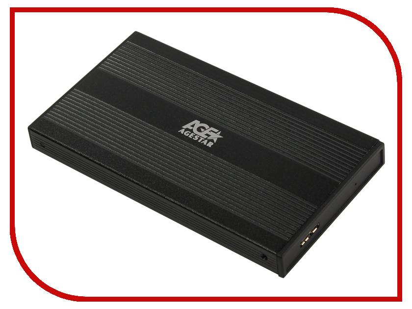 Купить Внешний корпус AgeStar 3UB2S Black