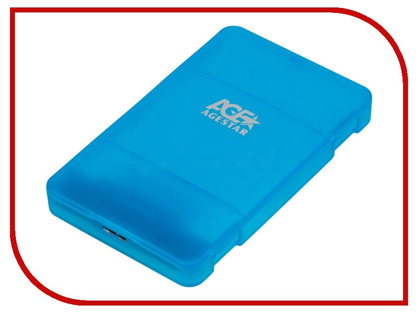 Купить Внешний корпус AgeStar 3UBCP3 Blue