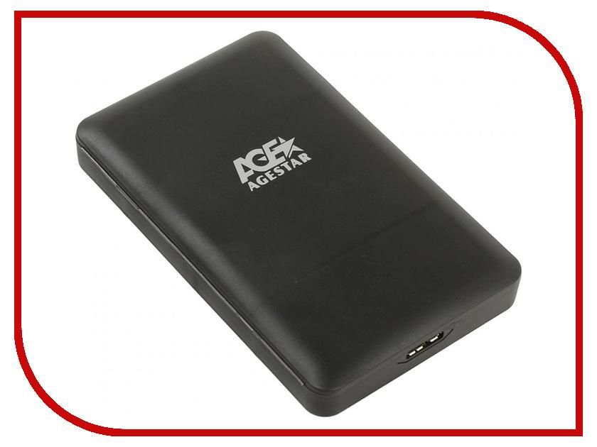 Купить Внешний корпус AgeStar 3UBCP3 Black