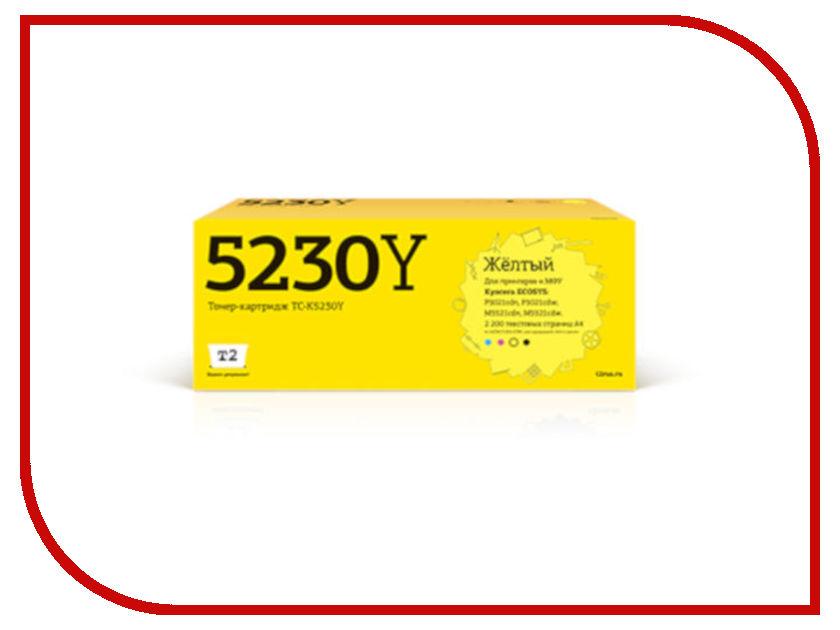Купить Картридж T2 TC-K5230Y Yellow для Kyocera Ecosys M5521cdn/M5521cdw/P5021cdn/P5021cdw с чипом