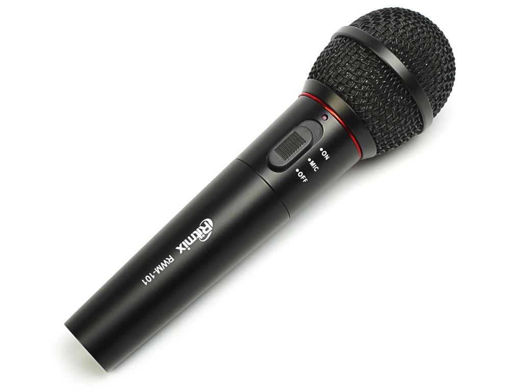 Фото - Микрофон Ritmix RWM-101 Black микрофон ritmix rwm 222 black