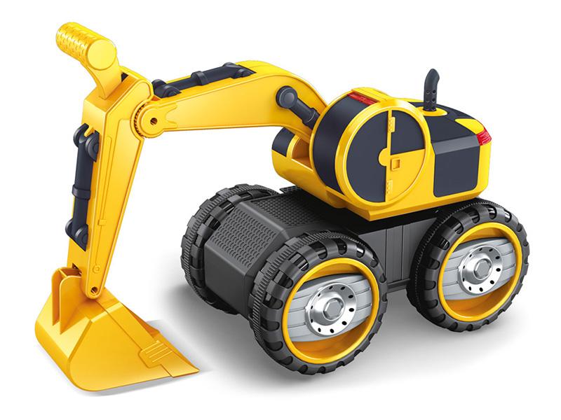 игрушка наша игрушка экскаватор снегоуборочный 6655 6 Игрушка Наша игрушка Экскаватор с ковшом 6655-8