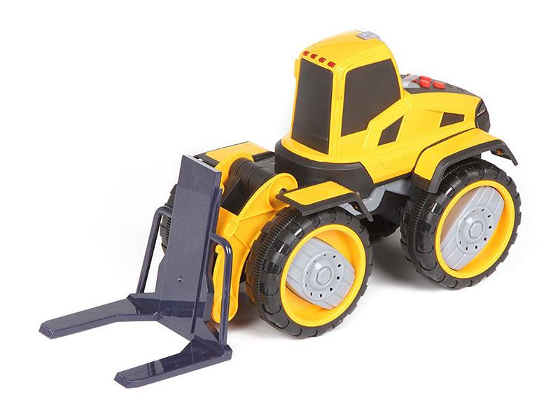 игрушка наша игрушка экскаватор снегоуборочный 6655 6 Игрушка Наша игрушка Погрузчик вилочный 6655-7