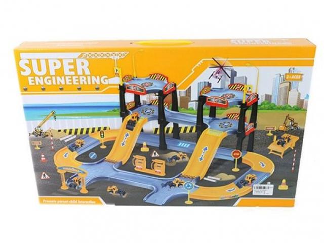 игрушка наша игрушка экскаватор снегоуборочный 6655 6 Игрушка Наша игрушка Парковка Дорожные работы P2029