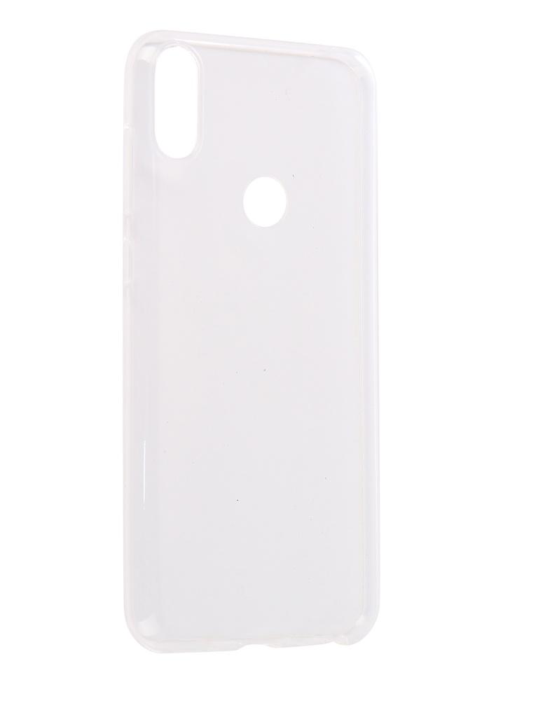 аксессуар чехол zibelino для asus zenfone max pro m1 zb602kl book black zb asus zb602kl blk Аксессуар Чехол Red Line для ASUS ZenFone Max Pro M1 ZB602KL Silicon Vox Transparent УТ000015706