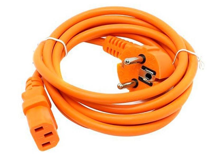 Фото - Кабель Vcom 1.8m 0.75mm Orange CE021-CU0.75-1.8M-O материнская плата пк supermicro mbd x10sae o mbd x10sae o