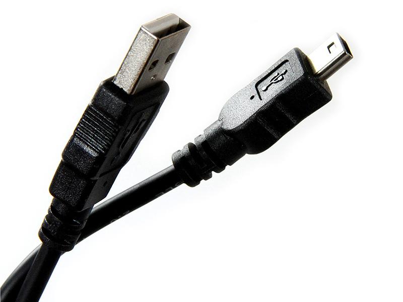 Аксессуар Telecom USB 2.0 to MiniUSB 5P 3m TC6911BK-3.0M