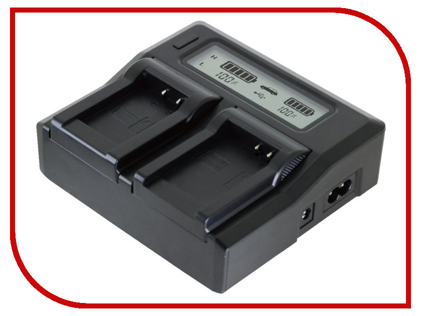 Купить Зарядное устройство Relato ABC02/ENEL3 с автомобильным адаптером для Nikon EN-EL3/EL3e/Fuji NP-150/Olympus BLM1/BLM5/Konica-Minolta NP-400/Pentax D-Li50
