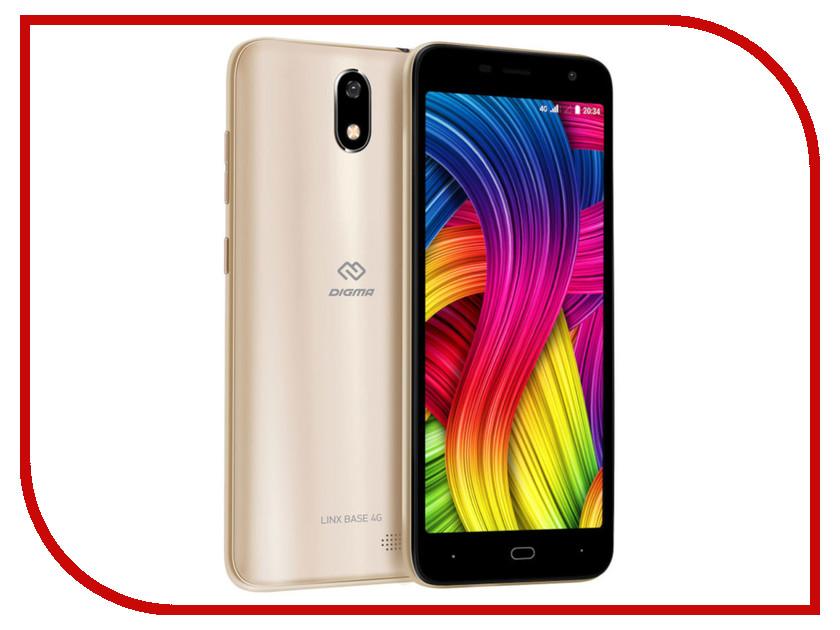 Купить Сотовый телефон Digma LINX BASE 4G Gold