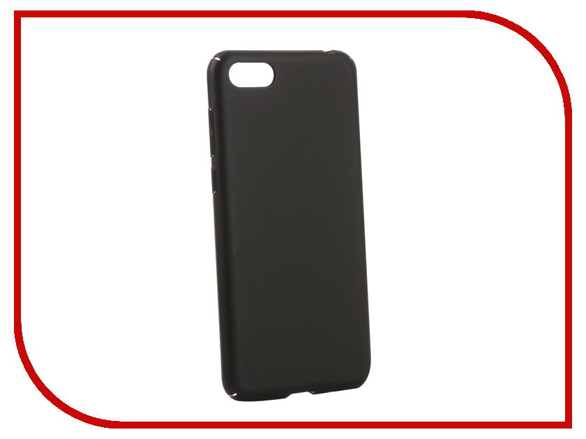 Аксессуар Чехол для Huawei Y5 Lite Zibelino Soft Matte Black ZSM-HUA-Y5-LIT-BLK  - купить со скидкой