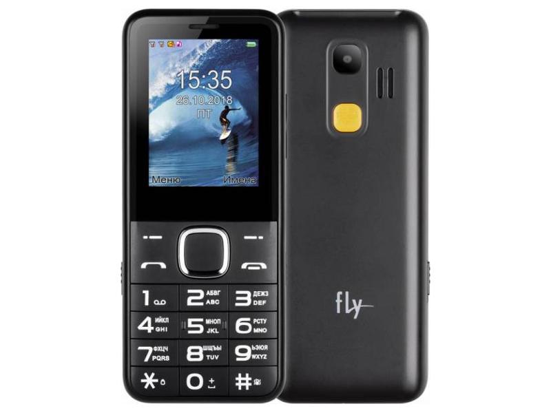 сотовый телефон fly slimline black blue Сотовый телефон Fly Ezzy 10 Black