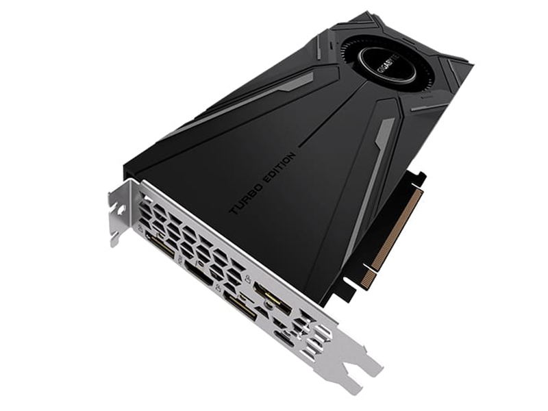 видеокарта gigabyte geforce gtx 1660 ti oc 6g 1800mhz pci e 3 0 6144mb 12000mhz 192 bit hdmi 3xdp gv n166toc 6gd Видеокарта GigaByte GeForce RTX 2080 Turbo OC 1785Mhz PCI-E 3.0 8192Mb 14000Mhz 256 bit HDMI 3xDP Type-C GV-N2080TURBO OC-8GC