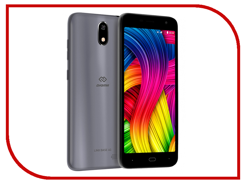 Купить Сотовый телефон Digma LINX BASE 4G Grey