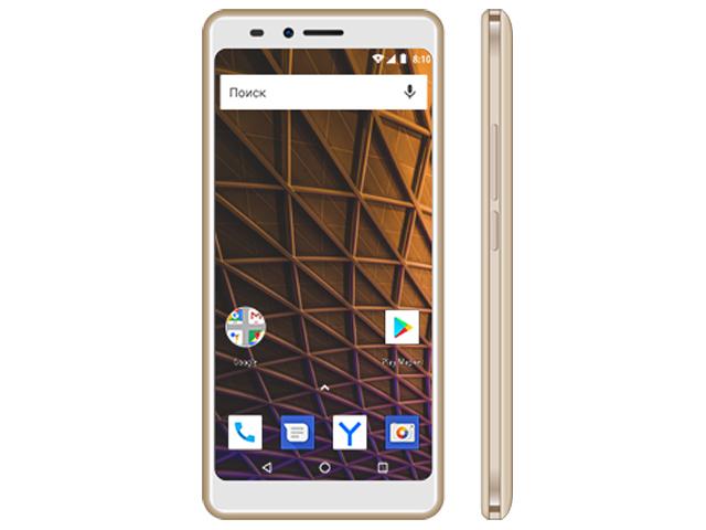 Купить Сотовый телефон Vertex Impress Pluto Gold