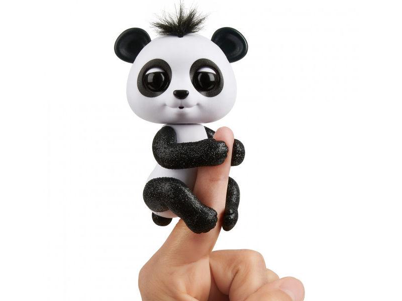 rovio wowwee Игрушка WowWee Fingerlings Панда Дрю White-Black 3564
