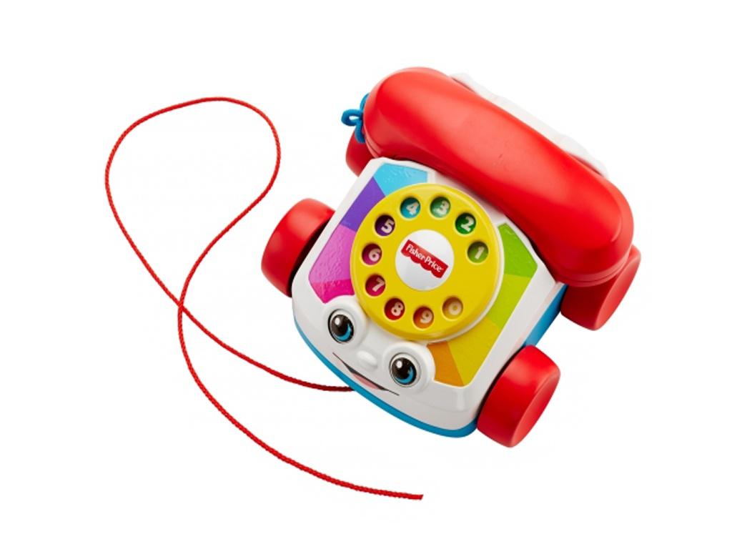 игрушка азбукварик говорящий градусник 4680019280059 Игрушка Mattel Fisher-Price Говорящий телефон на колесах FGW66