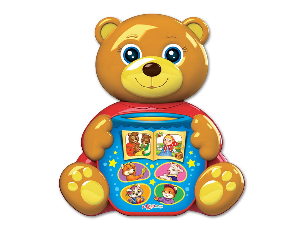игрушка азбукварик мишка косолапый 4680019281858 Игрушка Азбукварик Мишка косолапый 4680019281858