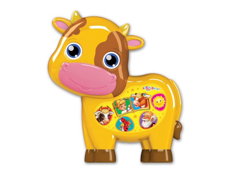 игрушка азбукварик веселушки курочка 4680019282657 Игрушка Азбукварик Бычок - смоляной бочок 4680019281841