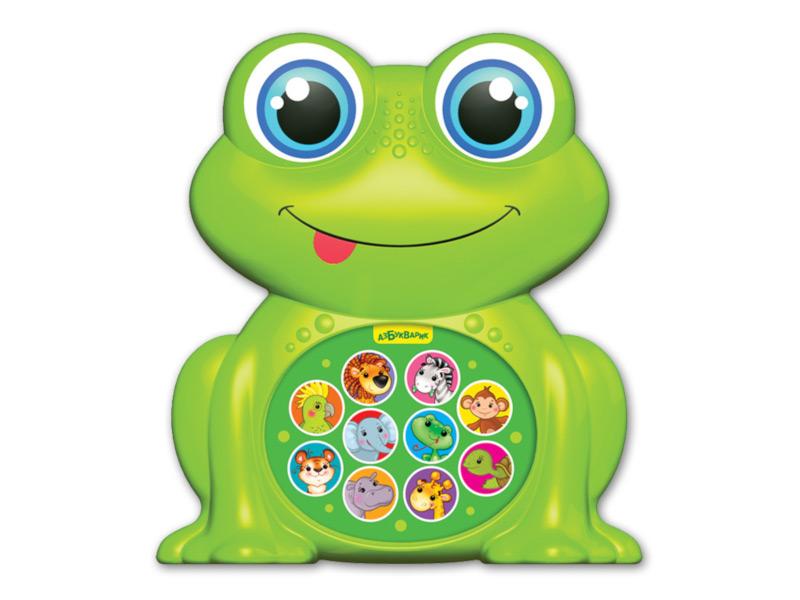 игрушка азбукварик мишка косолапый 4680019281858 Игрушка Азбукварик Лягушонок 4680019282299