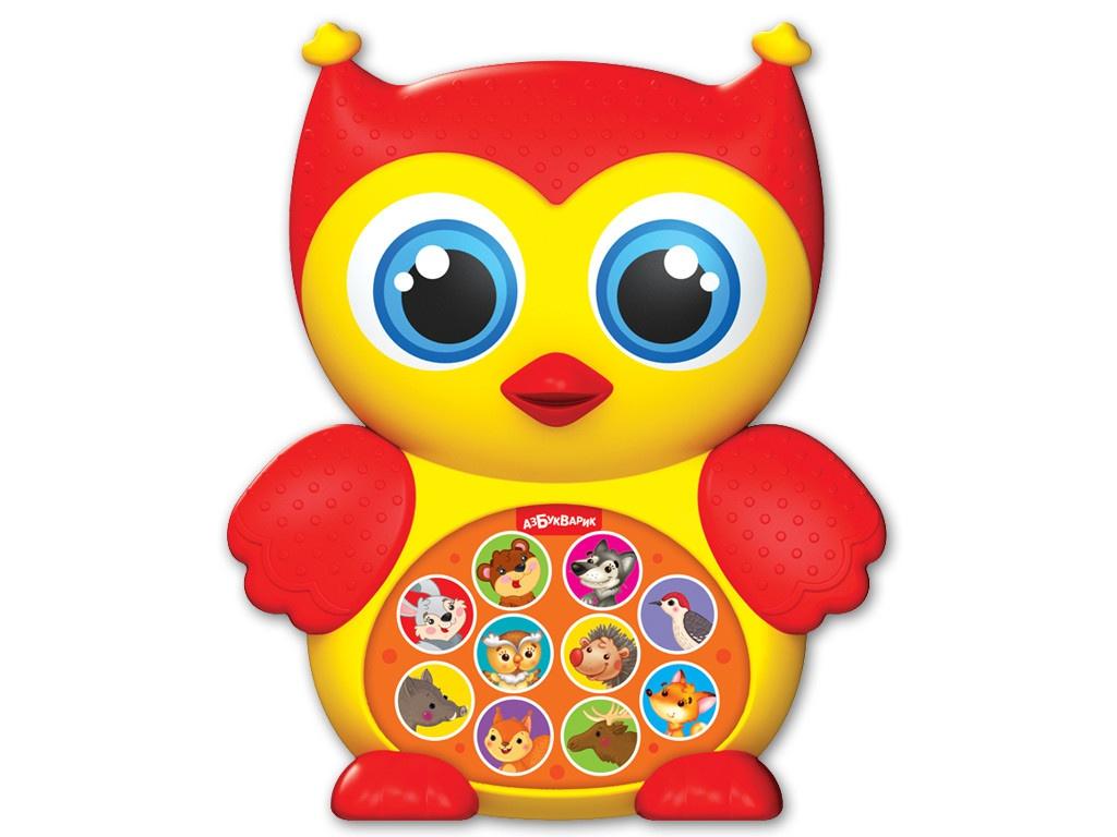 игрушка азбукварик мишка косолапый 4680019281858 Игрушка Азбукварик Совушка 4680019282305