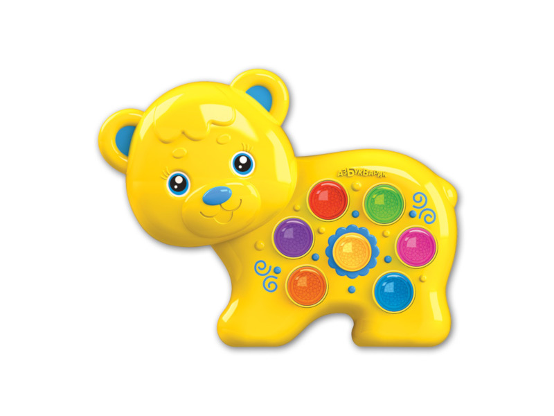 игрушка азбукварик мишка косолапый 4680019281858 Игрушка Азбукварик Веселушки Мишка 4630027290267