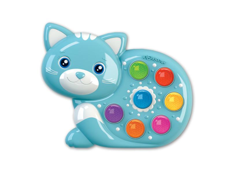 игрушка азбукварик мишка косолапый 4680019281858 Игрушка Азбукварик Веселушки Котёнок 4630027290236