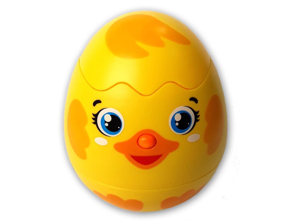 игрушка азбукварик веселушки курочка 4680019282657 Игрушка Азбукварик Яйцо-сюрприз Утёнок 4680019282169