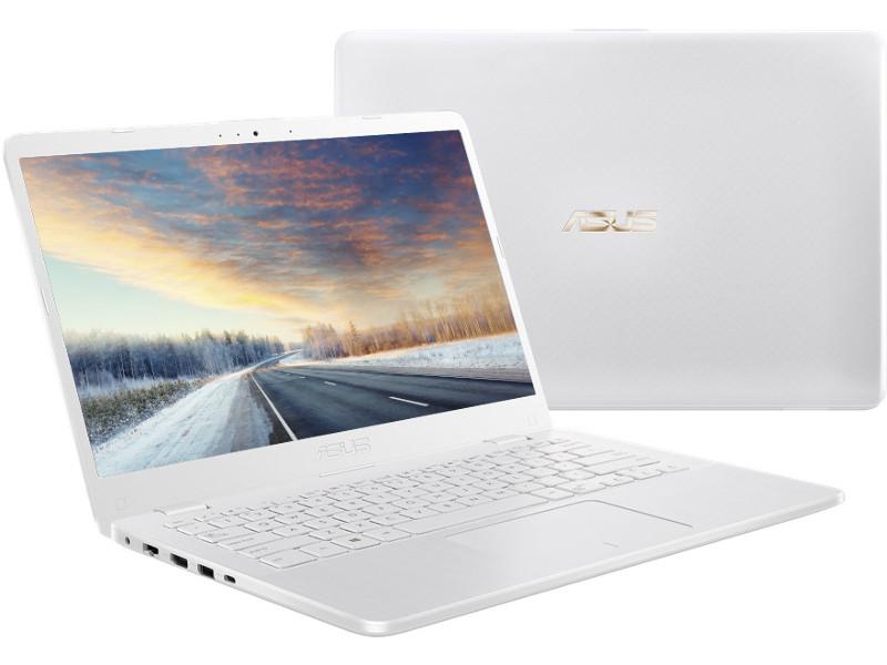 ноутбук asus vivobook s510uf bq606 90nb0ik5 m10780 intel core i3 8130u 2 2 ghz 6144mb 1000gb intel hd graphics wi fi bluetooth cam 15 6 1920x1080 endless Ноутбук ASUS X405UA-BV561 90NB0FA6-M13070 White (Intel Core i3-6006U 2.0 GHz/4096Mb/1000Gb/No ODD/Intel HD Graphics/Wi-Fi/Bluetooth/Cam/14.0/1366x768/Endless)