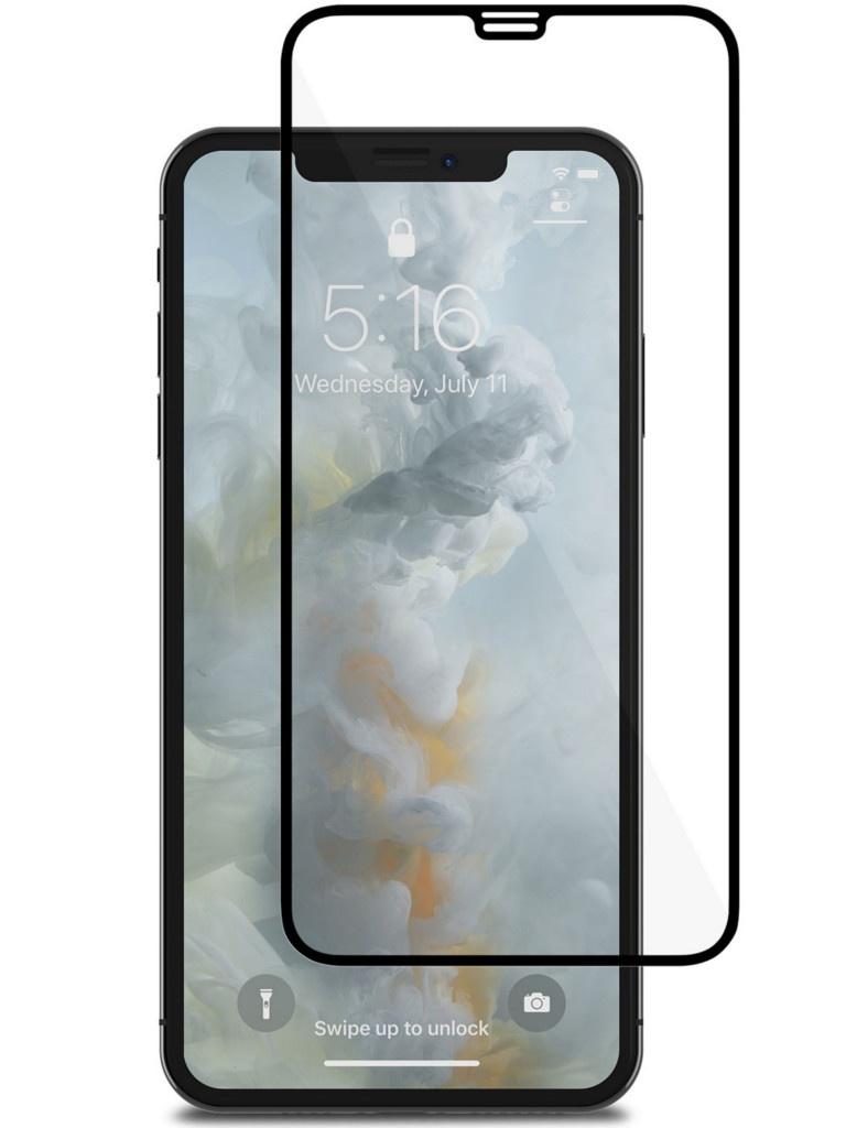 Защитное стекло Moshi для APPLE iPhone XS Max IonGlass Black Glossy 99MO096022