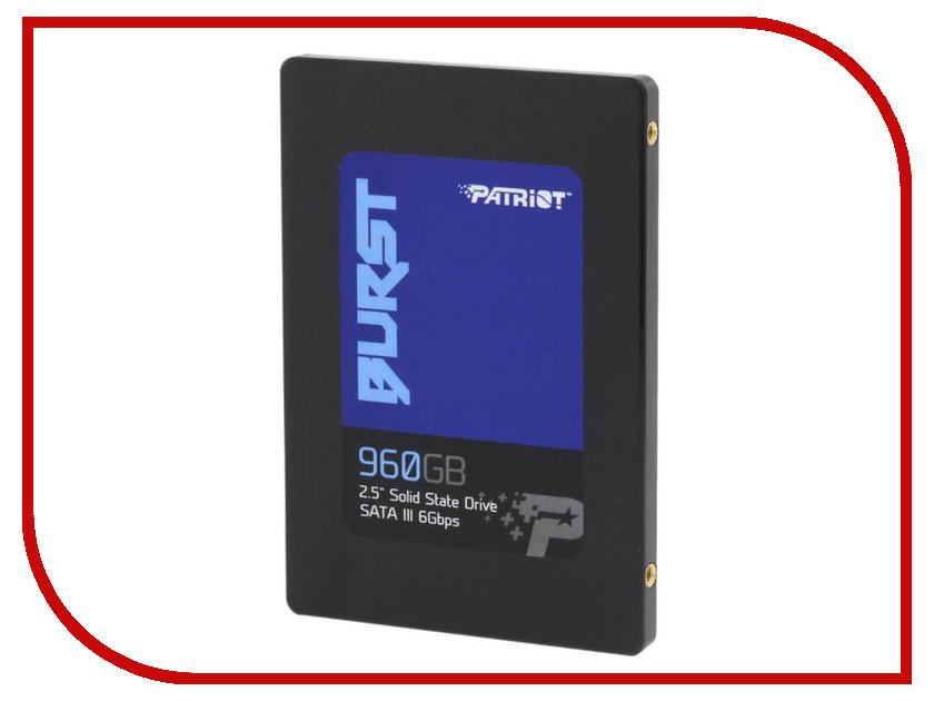 Купить Жесткий диск 960Gb - Patriot Memory Patriot Burst PBU960GS25SSDR