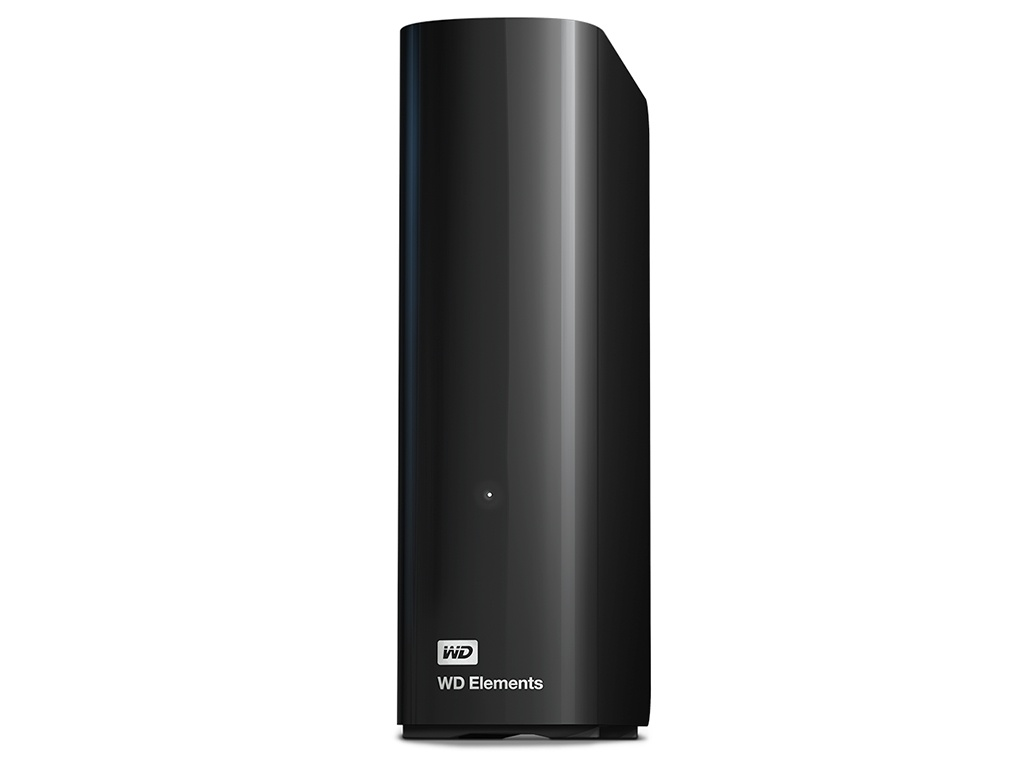 Жесткий диск Western Digital WD Elements Desktop 10 TB Black (WDBWLG0100HBK-EESN)