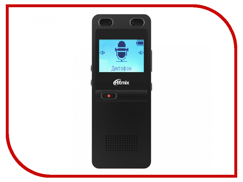 Купить Диктофон Ritmix RR-910 4GB Black