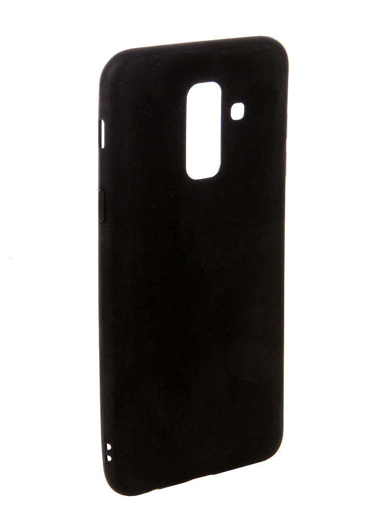 аксессуар чехол ubik для honor 8 lite tpu black 13133 Аксессуар Чехол Ubik для Samsung A6+ TPU Black 31356