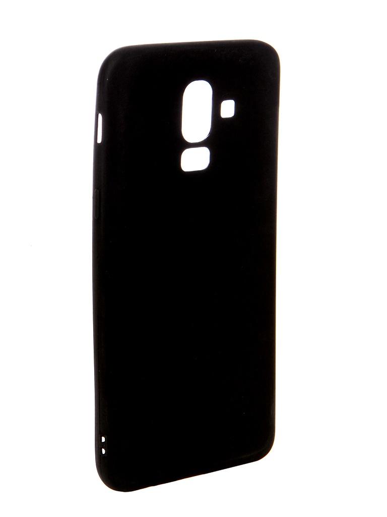аксессуар чехол ubik для honor 8 lite tpu black 13133 Аксессуар Чехол Ubik для Samsung J8 TPU Black 31368