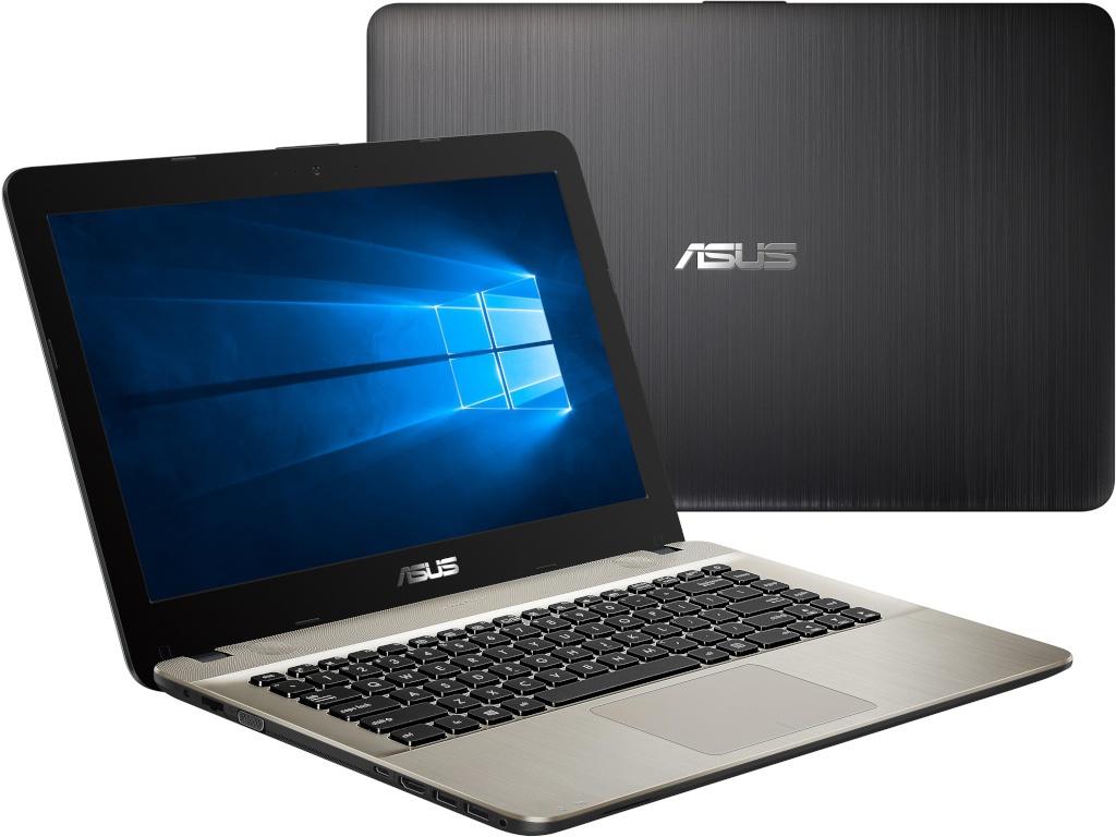 ноутбук asus x540na gq005t 90nb0hg1 m02040 intel n3350 1 1 ghz 4096mb 500gb intel hd graphics wi fi cam 15 6 1366x768 windows 10 64 bit Ноутбук ASUS X441UA-WX146T 90NB0C91-M08090 Black (Intel Core i3-6006U 2.0 GHz/4096Mb/1000Gb/DVD-RW/Intel HD Graphics/Wi-Fi/Bluetooth/Cam/14.0/1366x768/Windows 10 64-bit)