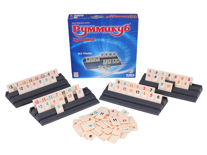 Настольная игра Стиль жизни Руммикуб. Без границ БП-00002010