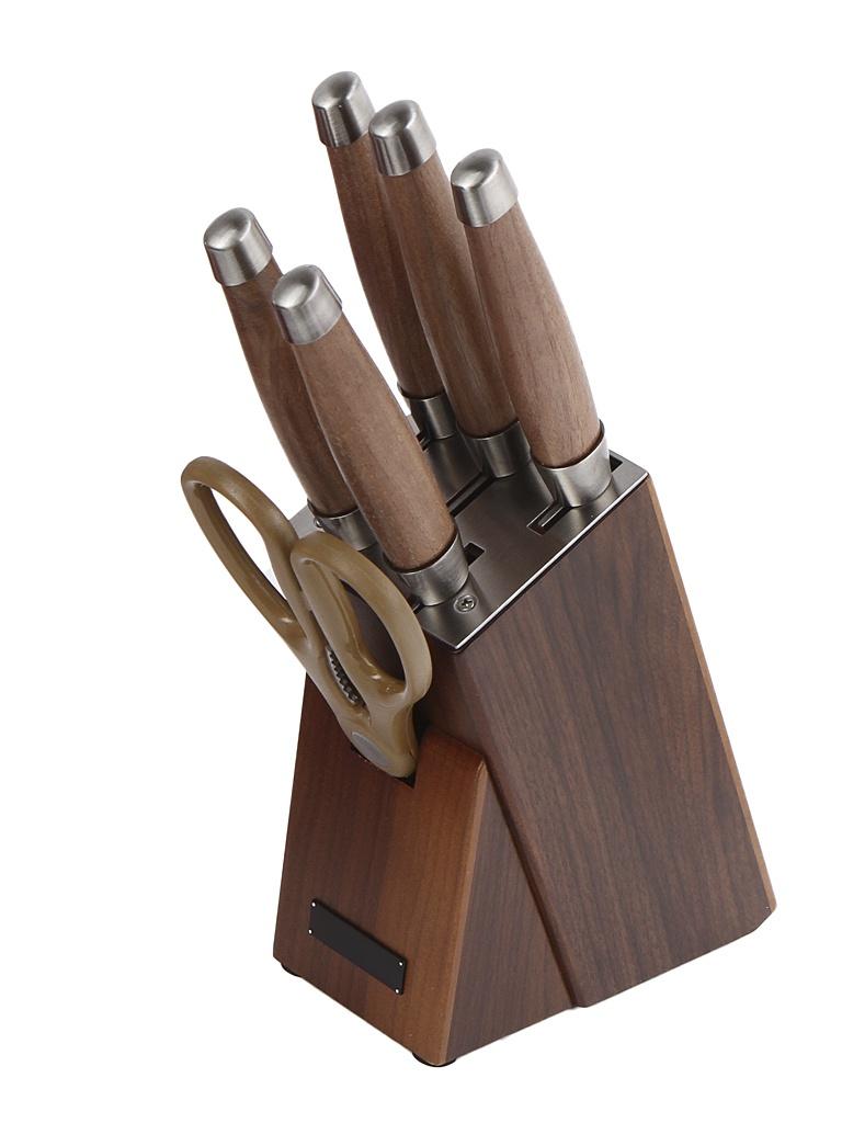 набор столовых приборов rondell kerstin 24 предмета rd 245 Набор ножей Rondell Glaymore RD-984