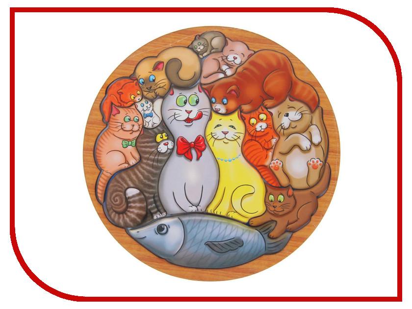 Купить Головоломка Smile Decor Коты 1481959
