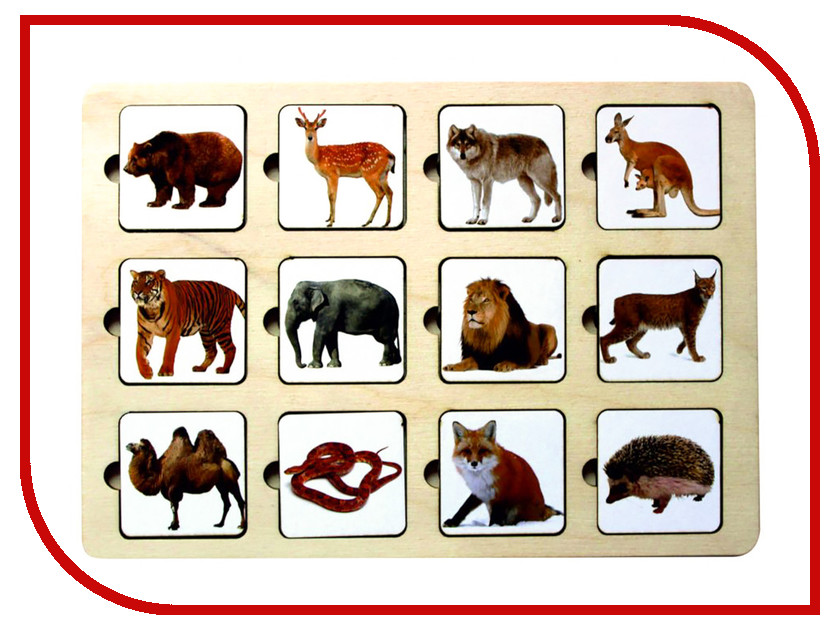Купить Головоломка Smile Decor Секретики Зоопарк 3141773