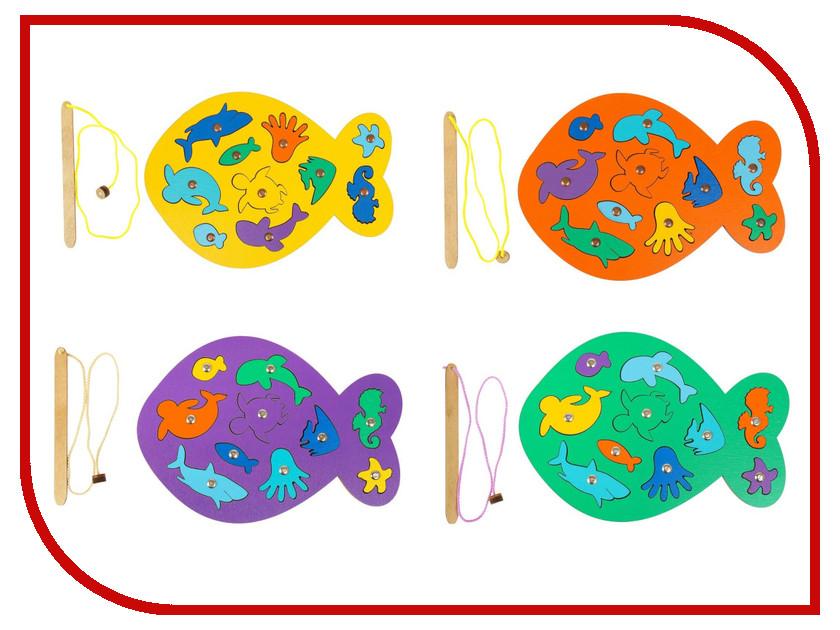 Купить Настольная игра Smile Decor Магнитная рыбалка Рыбка Микс 3026153