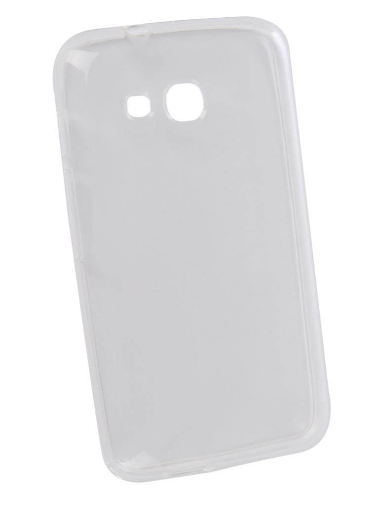 чехол alcatel pop 4 plus 5056d Аксессуар Чехол для Alcatel U3 4034DL LuxCase TPU Transparent 60001